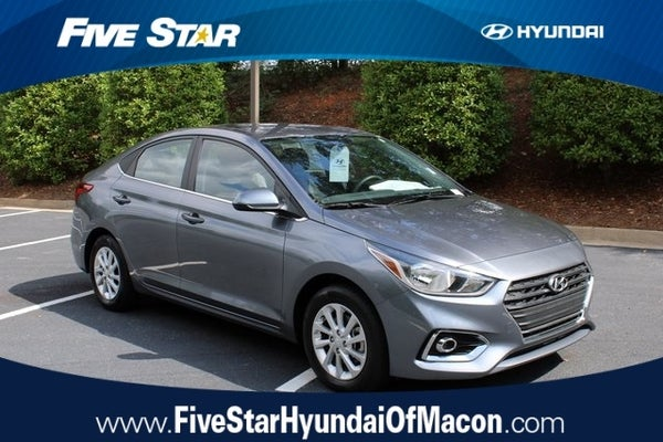 Five Star Hyundai >> 2019 Hyundai Accent Sel